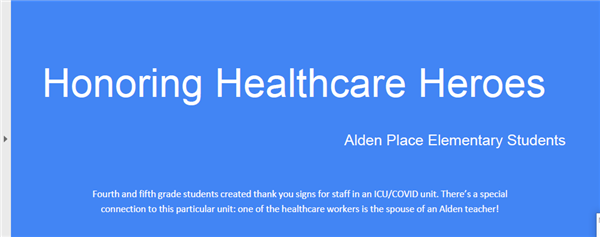 Alden Honors Healthcare Workers