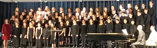 Photo of All-County Chorus