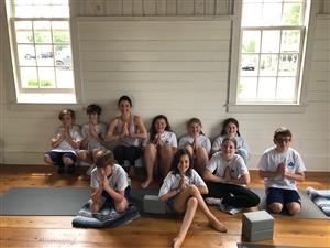 Photo of Millbrook Wellness Club students in Millbrook Yoga